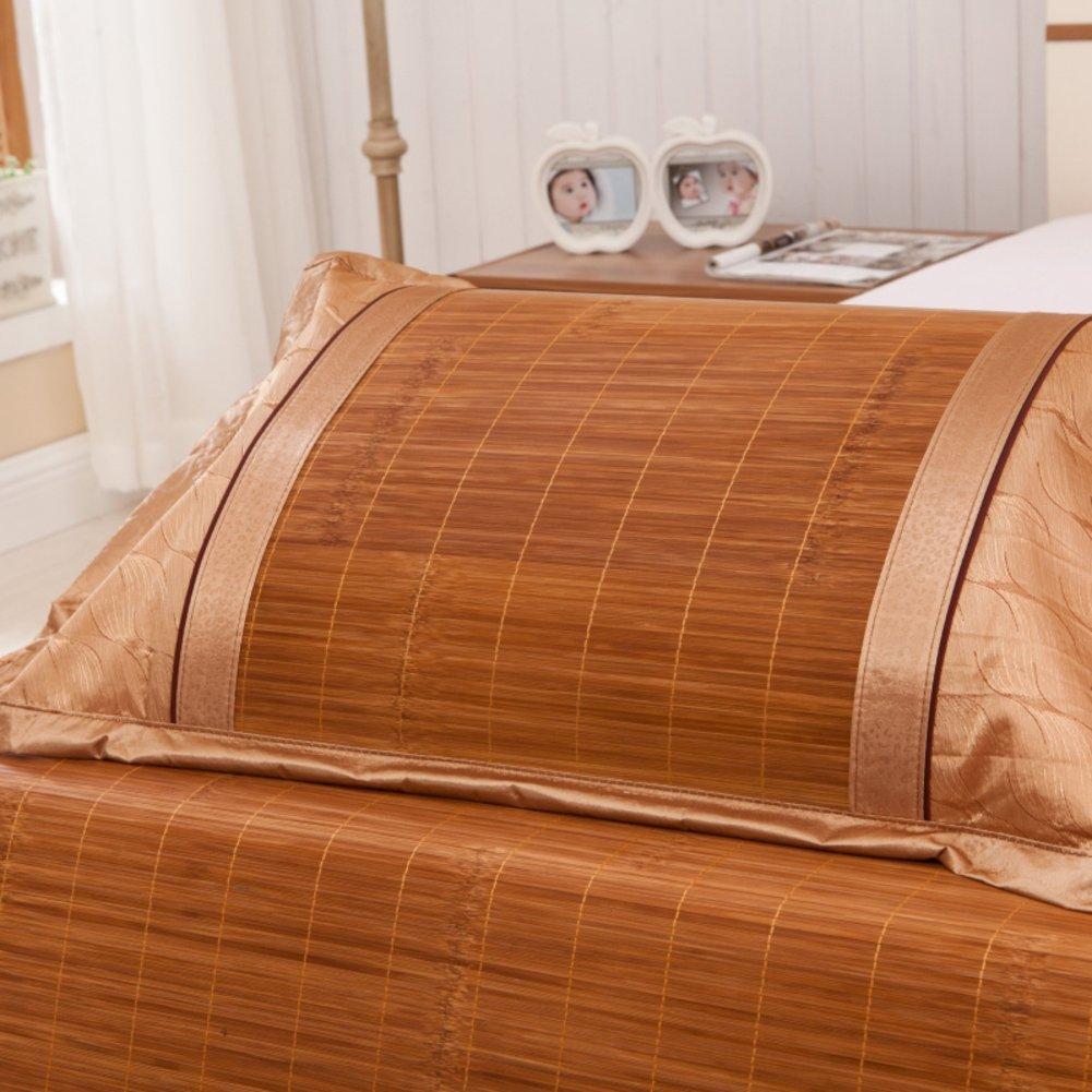 D&L Summer bamboo mat pillowcase, Single mat Pillowcase, Bamboo pillowcase-C 74x48cm(29x19inch)
