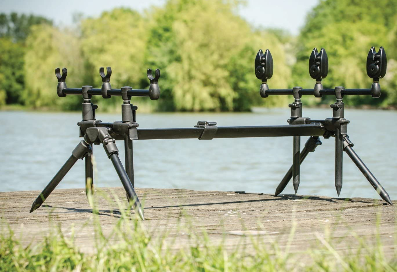 Leeda Rogue Coarse Carp Fishing 3 In 1 Rod Pod With Carry Case