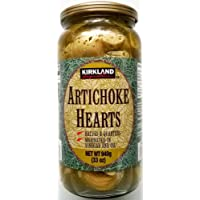 Kirkland Halves & Quarters Artichoke Hearts in Vinegar & Oil - 2 x 935gm