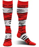 Dr. Seuss Cat in the Hat Kids Costume Socks by elope