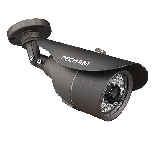 86 opinioni per PECHAM Videocamera di Sorveglianza 1200TVL CCTV Telecamera 36 infrarossi LED,