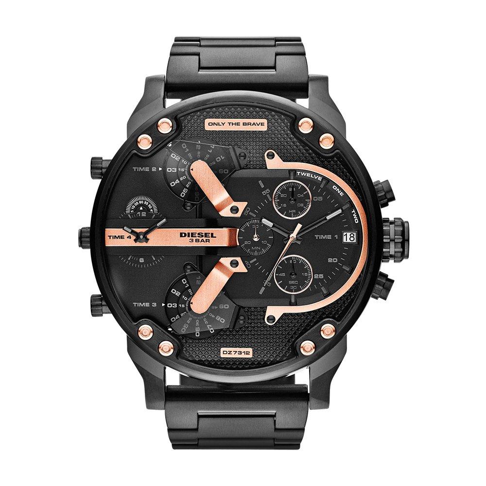 Diesel Men's DZ7312 Mr Daddy 2.0 Black Ip Watch