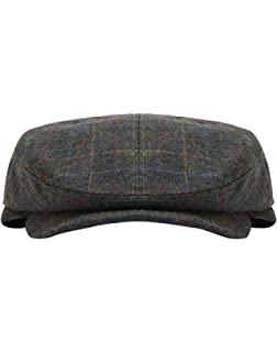 Joules Hats Croftbury Tweed Flat Cap - Forest LARGE  Amazon.co.uk ... 7ec40a9d416