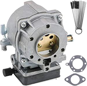 CANZILLA 693480 Carburetor Carb for Briggs & Stratton V-Twin 693479 694056 499305 and Craftsman LT1000, Carb with Gaskets Replacement Fits 495181 394505 491429 393297 399623 Lawn Mower Tractors Engine