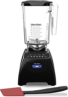product image for Blendtec Classic 575 Kitchen Blender, 90 oz/36 oz Blending Capacity, Black/Spoonula