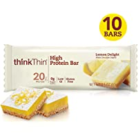 Think Thin Barra de Proteína, Sabor Limón, 60 g caja con 10 piezas