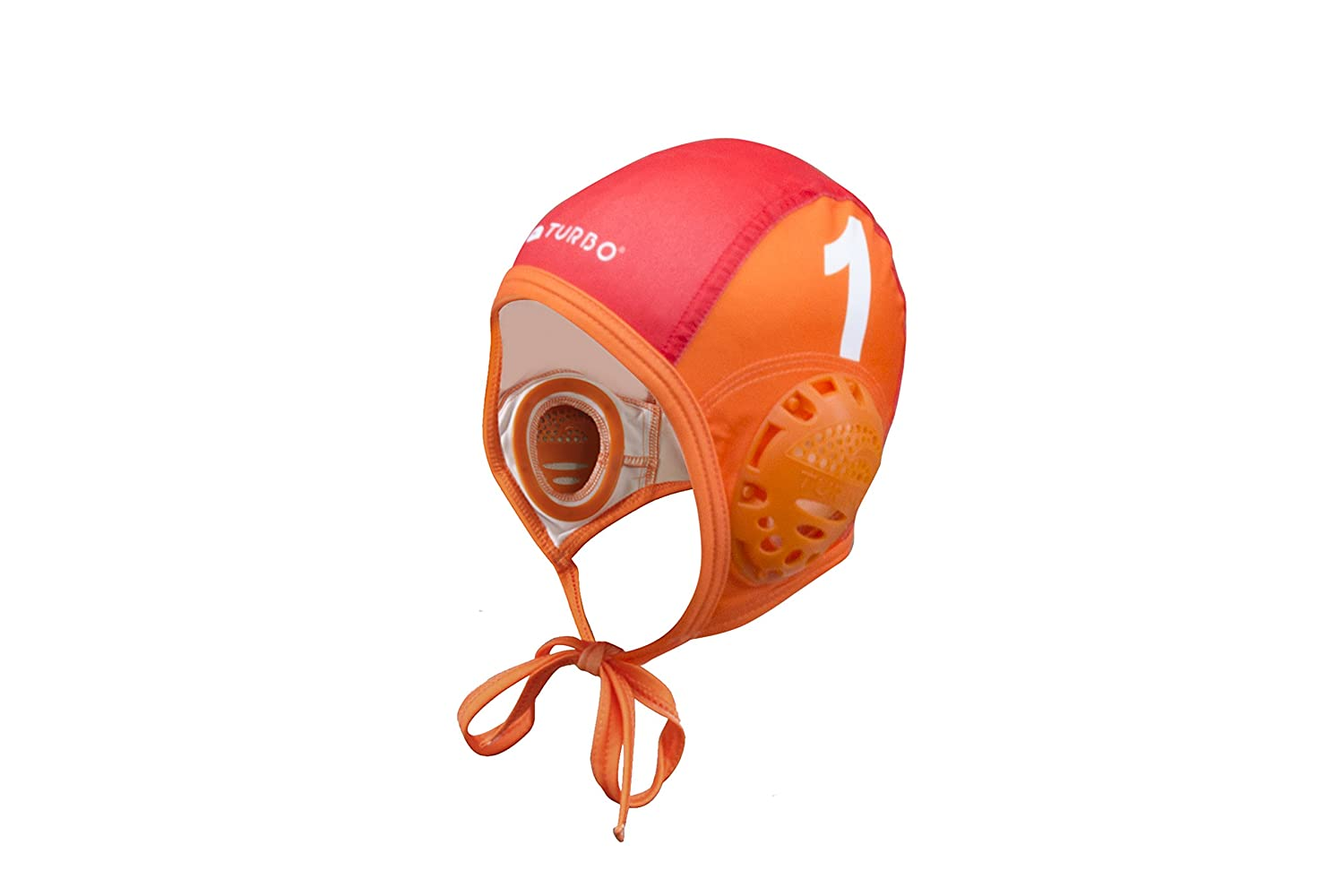 Amazon.com : TURBO Standard Water Polo Cap Set with 3 Numbers (Orange) : Sports & Outdoors