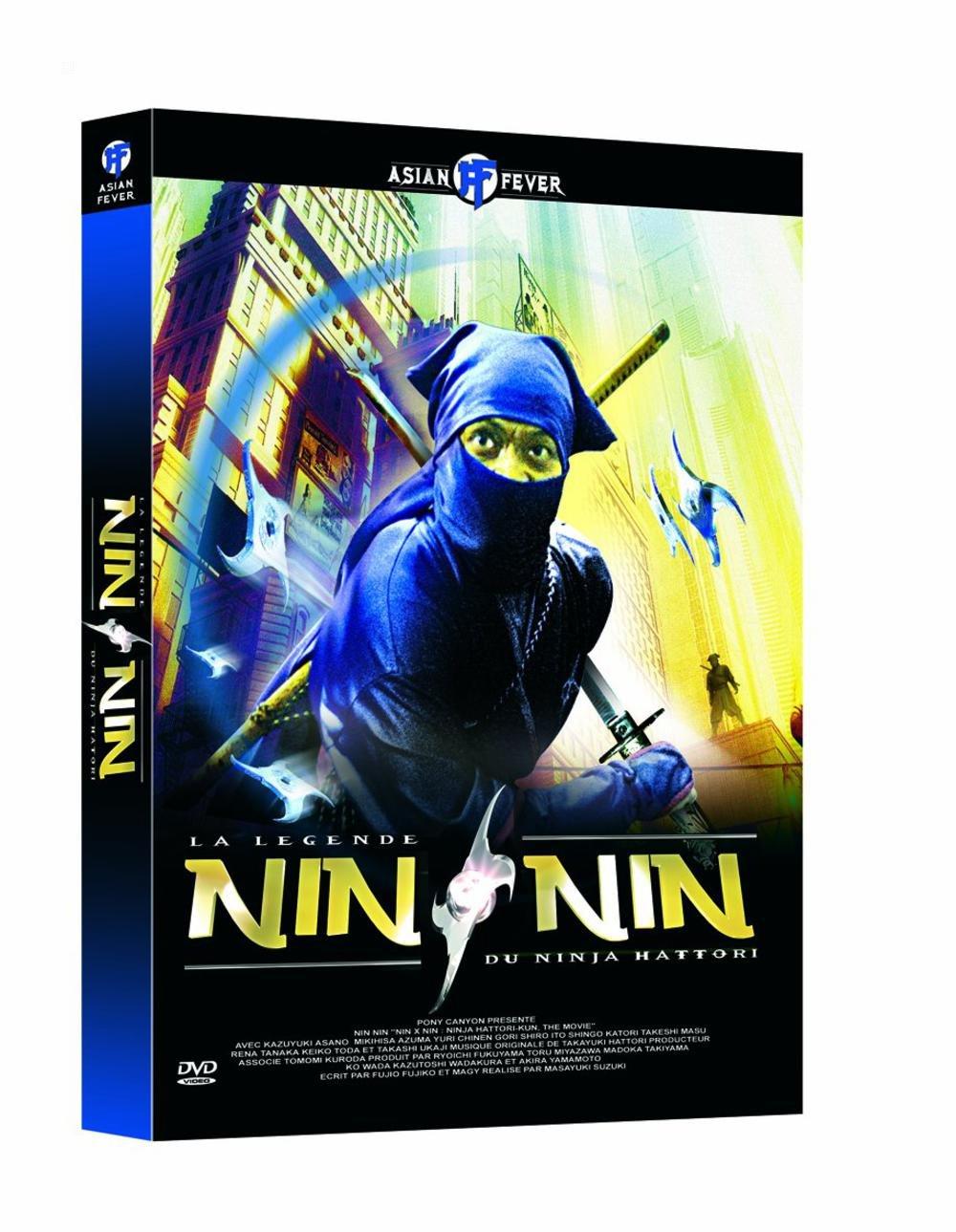Amazon.com: Nin Nin, La Legende Du Ninja Hattori - Edition 2 ...