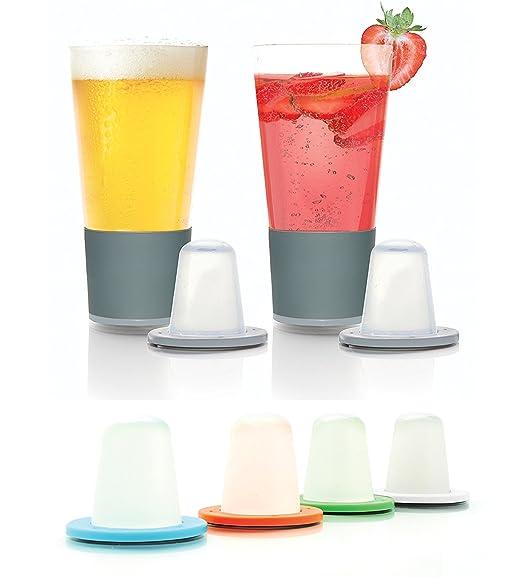 Bonus Pack: Dimple self-chilling cerveza gafas   magnético ...