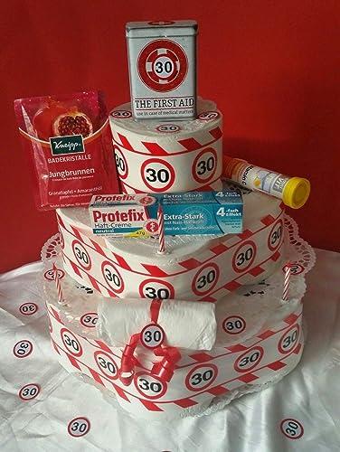 Witzige Geburtstagstorte Toilettenpapier 18 30 40 50 60 Amazon De Handmade