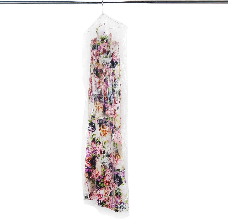 Hangerworld 20 Transparenter Kleidersack 165x51x10cm Durchsichtige Schutzh/üllen 0,025mm Folienst/ärke