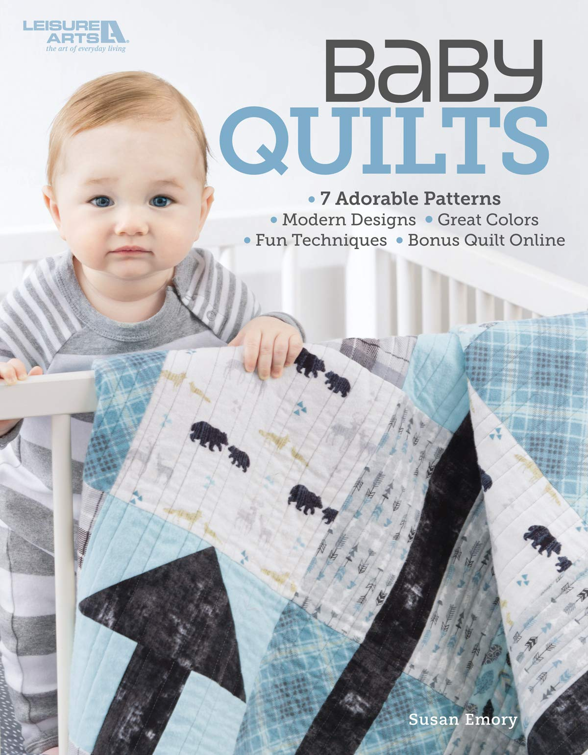 Baby Quilt Patterns.Baby Quilts 7 Adorable Patterns Modern Designs Great Colors
