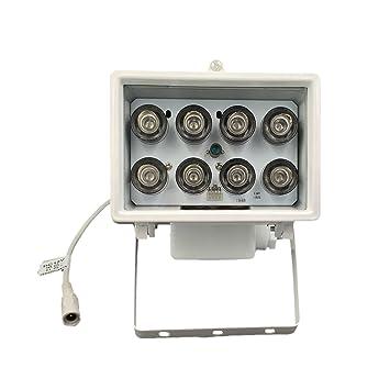 Led Lampe 8 Vision Illuminateur850nm Dmetric À Ir Infrarouge thCQrsd