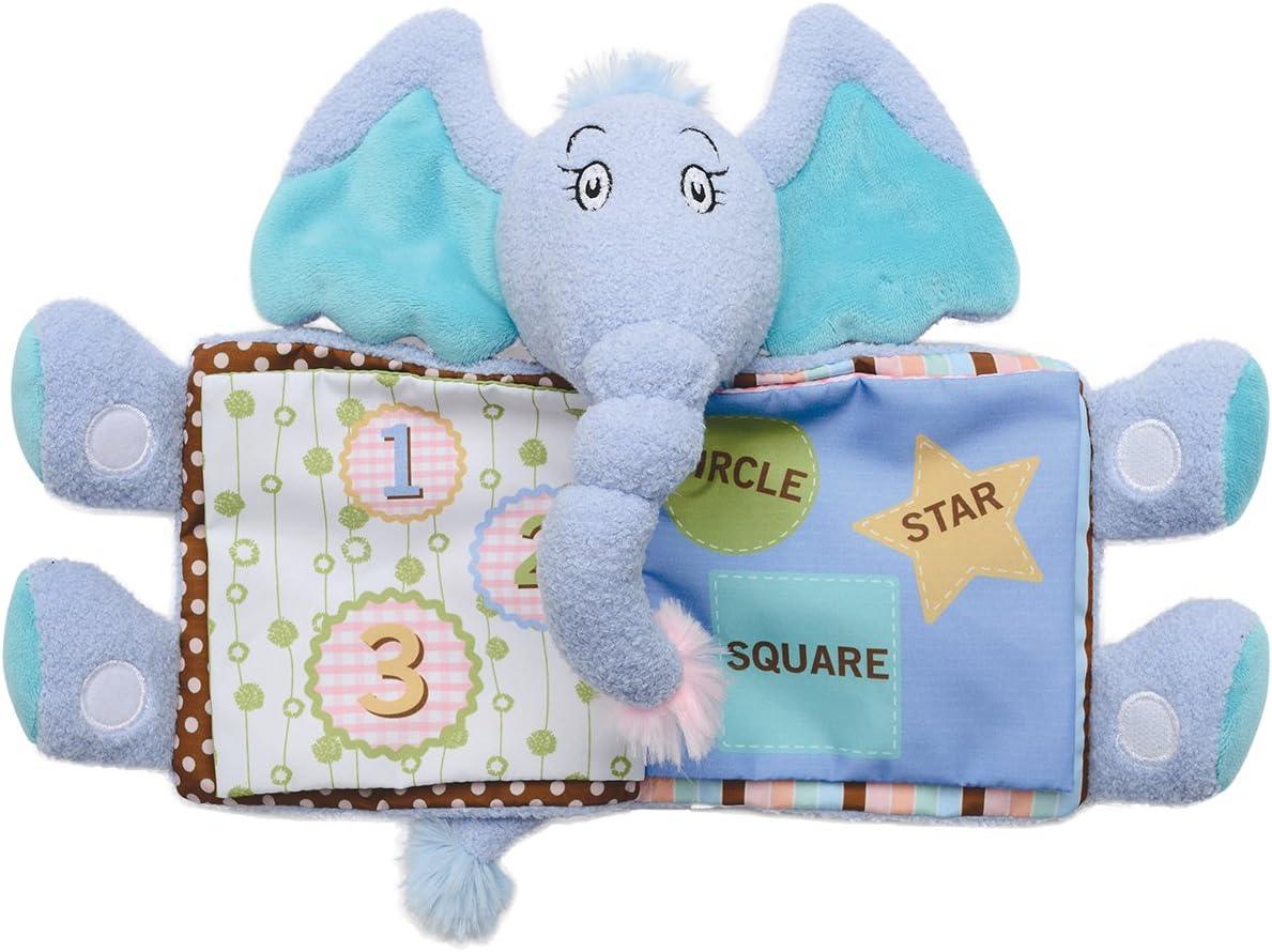 Seuss Horton Tactile Snuggle Book 153510 Manhattan Toy Dr