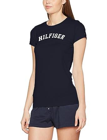 e9f9ccd680a7 Tommy Hilfiger Women s SS Tee Print Pyjama Top  Tommy Hilfiger ...