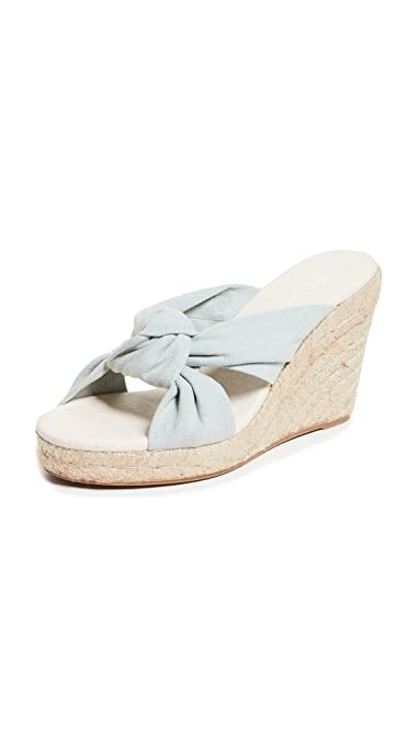 986e17f715e Soludos Women s Knotted Wedge Sandals