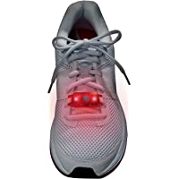 Brookstone Flashbugs for Shoes-red