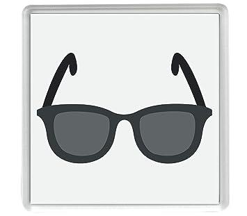 gafas de sol oscuras Emoji solo 80mm x 80mm posavasos ...