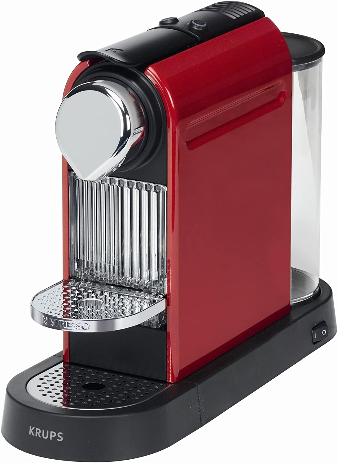 Krups Citiz - Cafetera Nespresso, 1260 W, color rojo: Amazon.es: Hogar