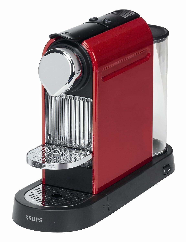 Krups Citiz - Cafetera Nespresso, 1260 W, color rojo: Amazon.es: Hogar