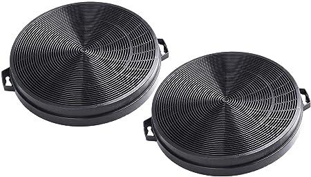 2 x Carbon Charcoal Cooker Hood Filters ART10918 ART10919 REF00803 CARBFILT2