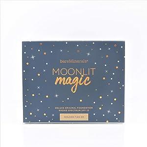 bareMinerals Moonlit Magic Deluxe Collector's Edition Original Foundation Broad Spectrum SPF 15, 0.6-oz. Golden Tan