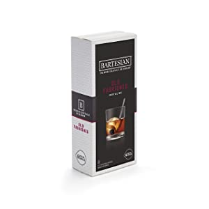 Bartesian Old Fashioned Cocktail Mixer Capsules, Pack of 6 Cocktail Capsules, for Bartesian Premium Cocktail Maker (55357)