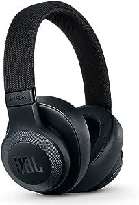 سماعات رأس توضع على الأذن بخاصيّة البلوتوث وإلغاء الضوضاء من جيه بي ال لايف ستايل E65Btnc - لون أسود، طراز JBLe65Btncblk