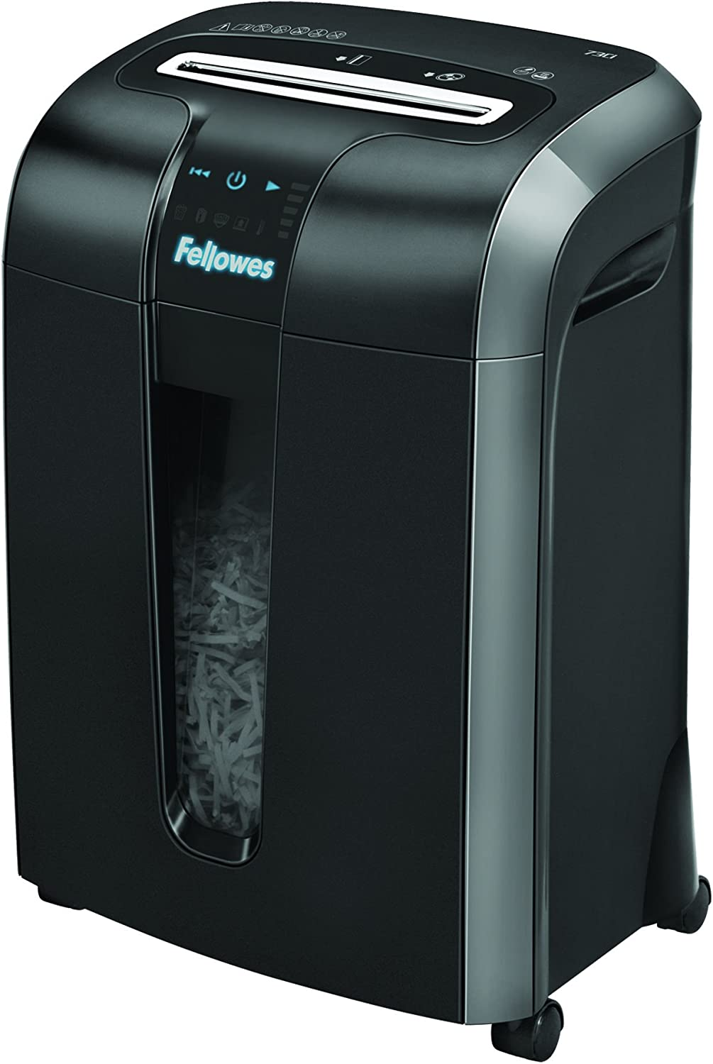 5.Fellowes Powershred Jam Proof Paper and Credit Card Shredder