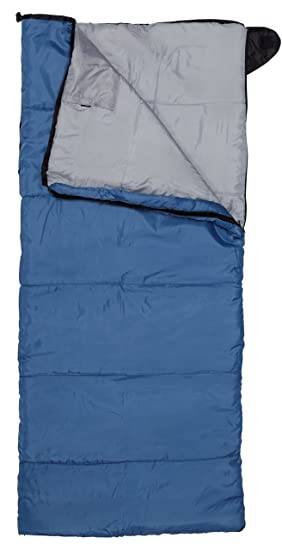 GRAND CANYON Cuddle Blanket – saco de dormir manta para niños, 3 estaciones, azul