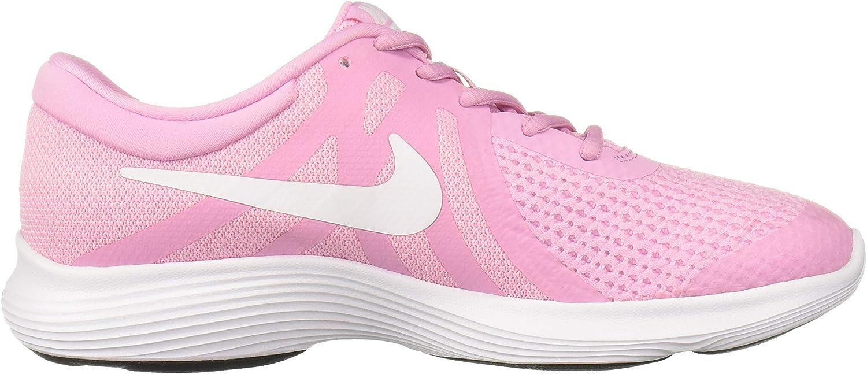oro sugerir Línea de visión  NIKE NIKE REVOLUTION 4 (GS), Girl's Trainers, Pink (Pink Rise/White-Pink  Foam-Black 603), 3 UK (35.5 EU): Amazon.co.uk: Shoes & Bags