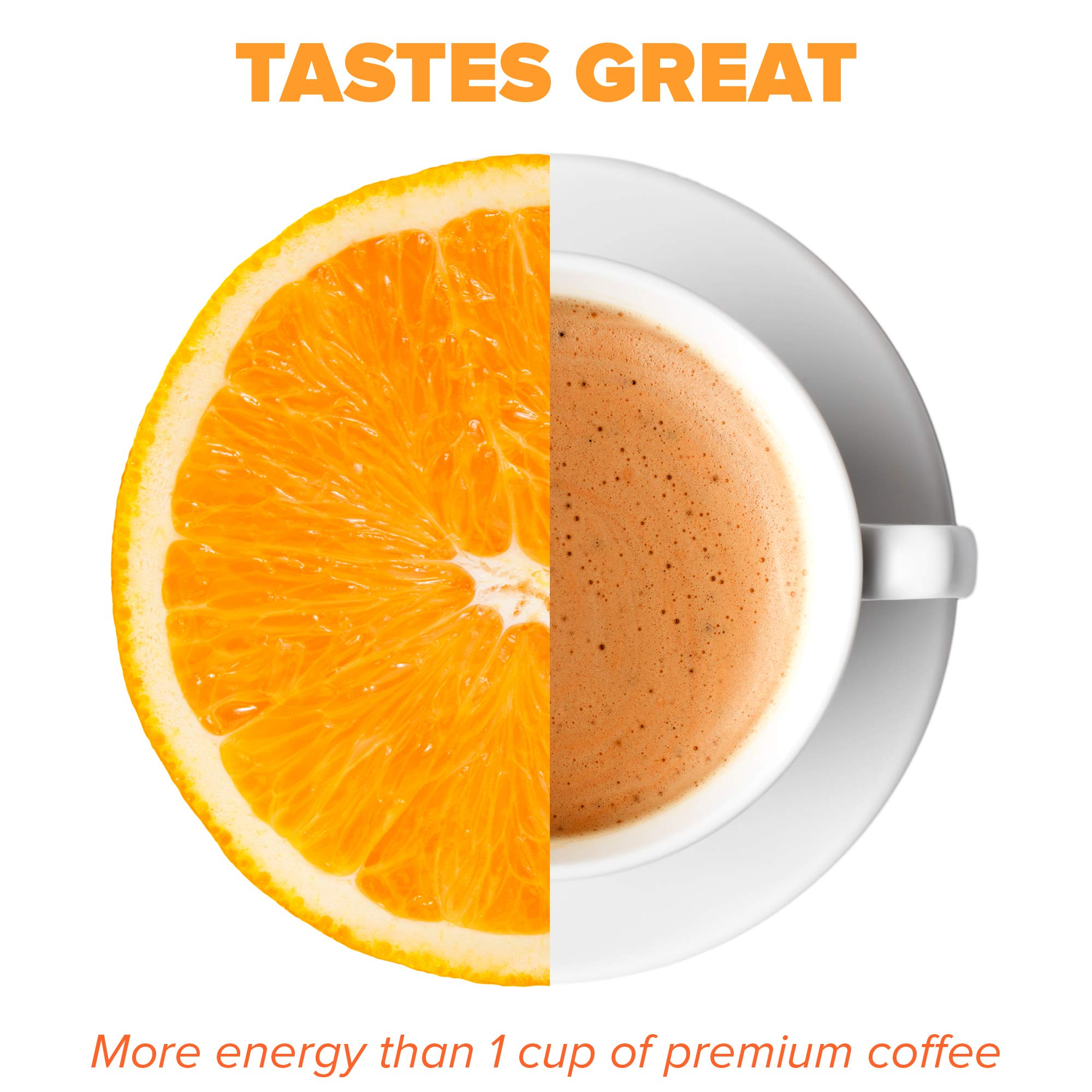 Vitamin Energy Shots – up to 7 Hours of Energy, More Vitamin C Than 10 Oranges, 0 Calories (48 Count) by Vitamin Energy (Image #2)