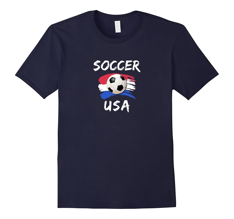 Soccer USA T-shirt-CD
