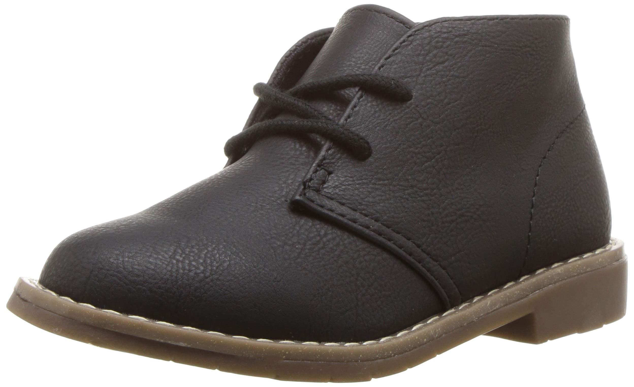 The Children's Place Boys' Fashion Boot, Black, TDDLR 8 Child US Toddler