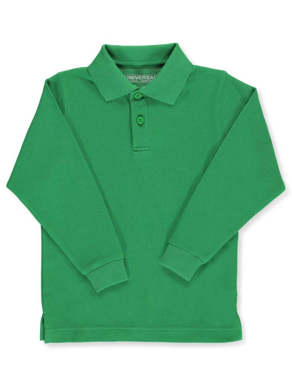 Cookie's Kids Universal Children's Long Sleeve Pique Polo Shirt
