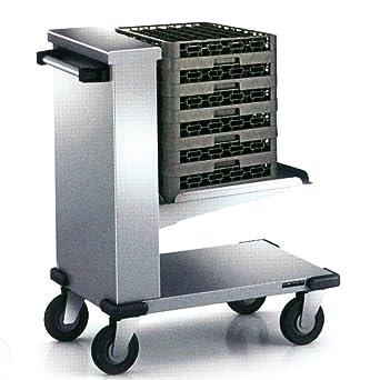 macfrin 91400 G08 nivel constante Depósito para cesta cristal, 6 bandejas de autoservicio, 550