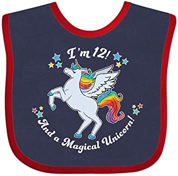 inktastic Im 1 and a Magical Unicorn-Rainbow Unicorn Baby T-Shirt