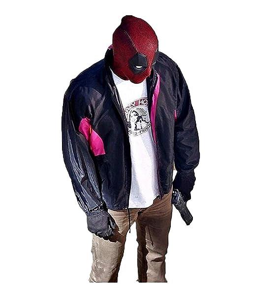 Amazon.com: Deadpool Wilson Ryan Reynolds 2 Wade - Chaqueta ...