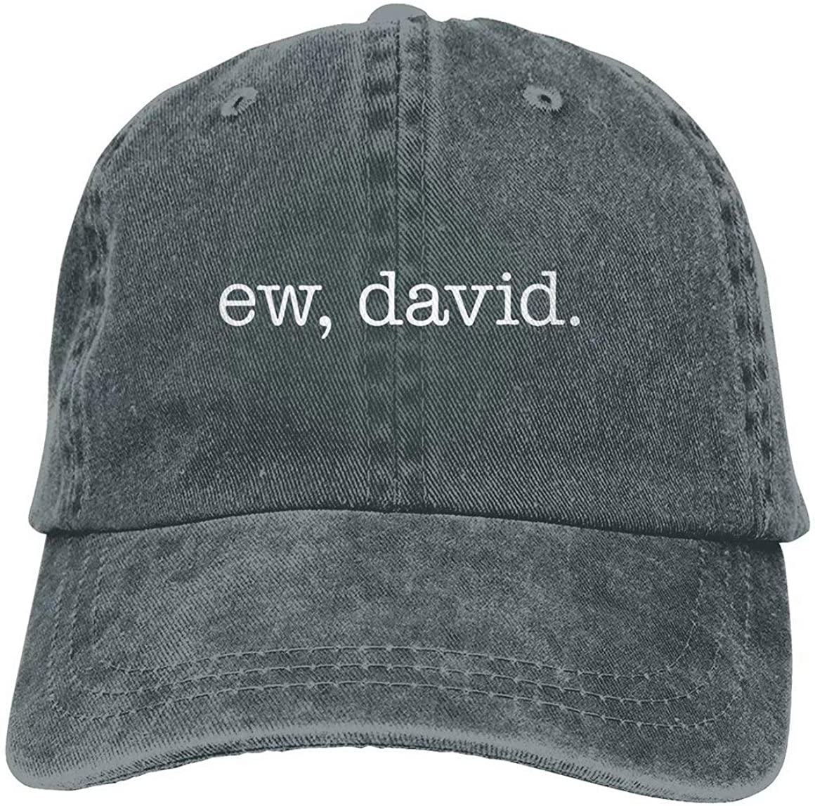 Nagetive Ew David Unisex Adjustable Hat Travel Sunscreen Caps