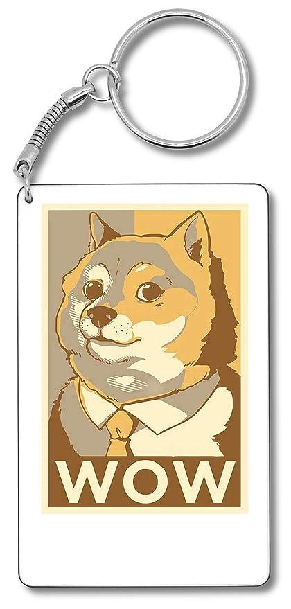 Doge Such Wow Meme Llavero Llavero: Amazon.es: Equipaje