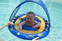 Amazon Com Swimways Baby Spring Float Sun Canopy Toys