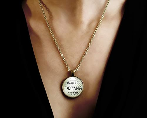 ref.81 woman birthday Cabochon necklace valentine/'s day illustrated necklacechatting birds woman christmas present bronze