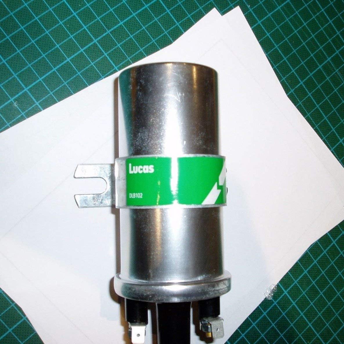 Lucas DLB101 12 Volt 3 Ohm Z/ündspule ohne Vorschaltger/ät Silber