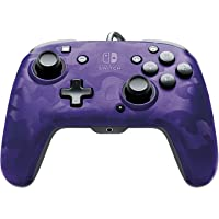 PDP 500-134-Na-Cm05 Nintendo Switch Faceoff Deluxe+ Audio Wired Controller - Purple Camo