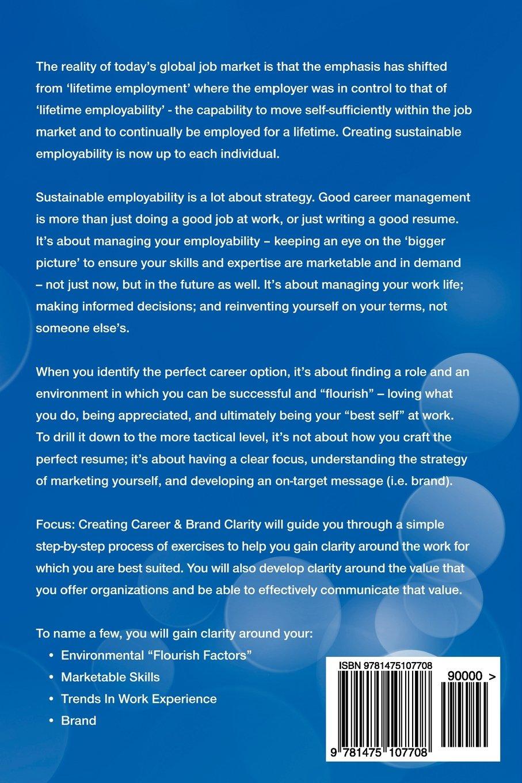 focus creating career brand clarity debra fehr heindel focus creating career brand clarity debra fehr heindel danielle beauparlant moser 9781475107708 amazon com books