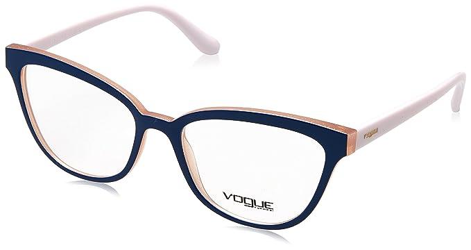 fcbb3c56db6 Vogue - VO5202 Damen Brillengestell top blue/pink glitter: Amazon.de ...