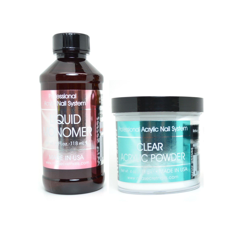 Professional Gel Nail System: Amazon.com : 500pcs Clear UV Gel French Acrylic False Nail