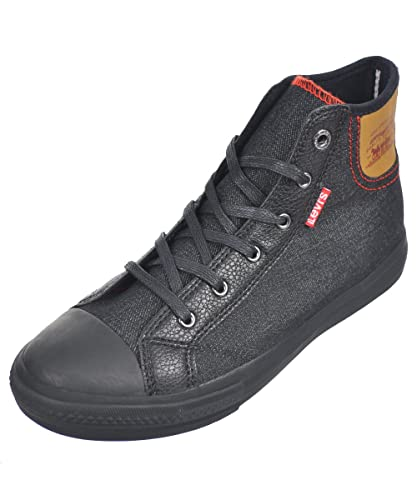 Montantes Hamilton Levi's Garçon Denim Baskets Noir Sneakers SnwxA4axR