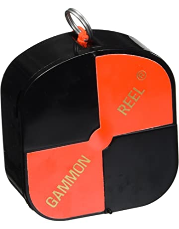 CST/Berger 11-728 12 Hi-Viz Gammon Reel - Black &