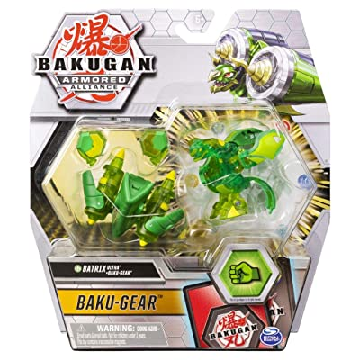 Bakugan Ultra, Ventus Batrix with Transforming Baku-Gear, Armored Alliance 3-inch Tall Collectible Action Figure…: Toys & Games